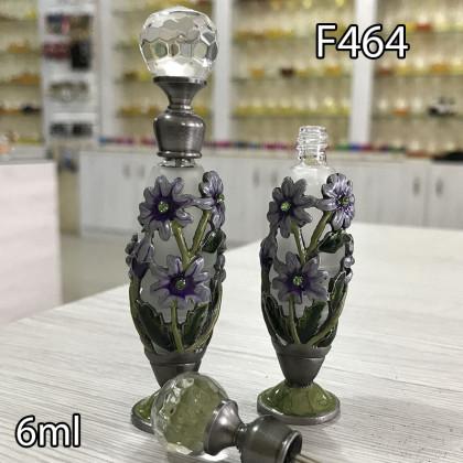 Флакон Масляный для разливных духов f464-6ml с кисточкой