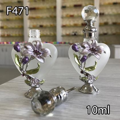Флакон Масляный для разливных духов f471-10ml с кисточкой