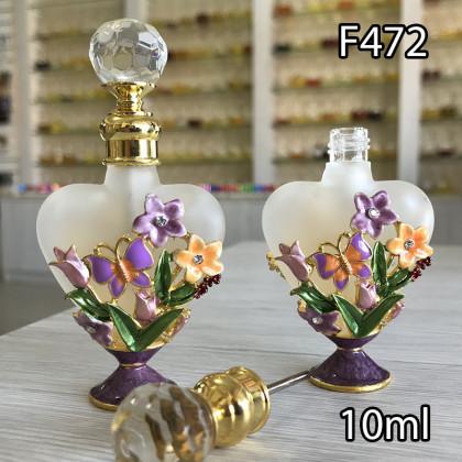 Флакон Масляный для разливных духов f472-10ml с кисточкой