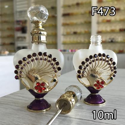 Флакон Масляный для разливных духов f473-10ml с кисточкой