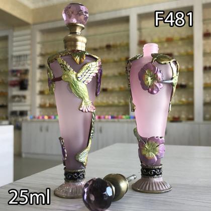 Флакон Масляный для разливных духов f481-25ml с кисточкой