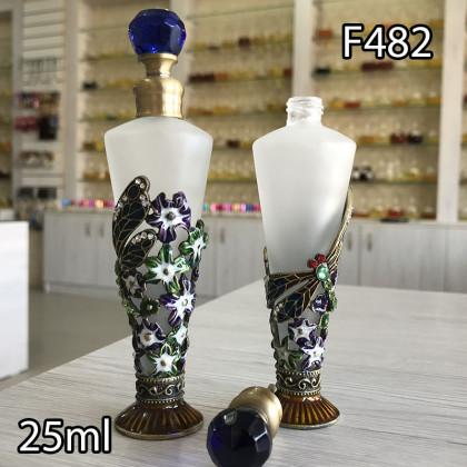 Флакон Масляный для разливных духов f482-25ml с кисточкой
