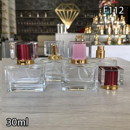 Флакон Парфюмерный для разливных духов f112-30ml Флакон парфюмерный стеклянный