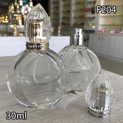 Флакон Парфюмерный для разливных духов f204-30ml Флакон стеклянный парфюмерный
