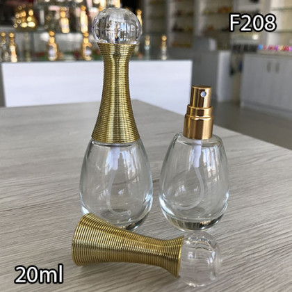 Флакон Парфюмерный для разливных духов f208-20ml Флакон стеклянный парфюмерный