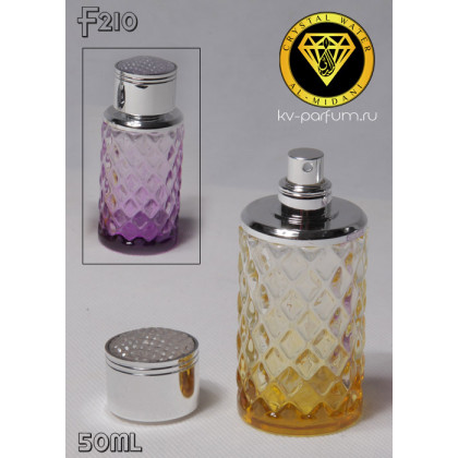 Флакон Парфюмерный для разливных духов f210-50ml. Флакон парфюмерный стеклянный.