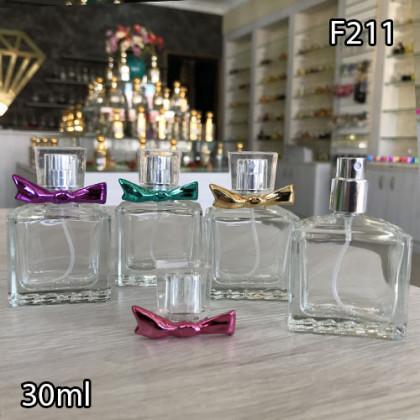 Флакон Парфюмерный для разливных духов f211-30ml Флакон стеклянный парфюмерный