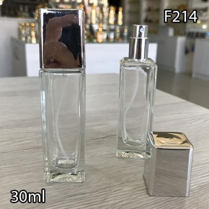 Флакон Парфюмерный для разливных духов f214-30ml Флакон стеклянный парфюмерный