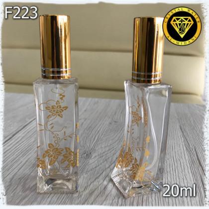Флакон Парфюмерный для разливных духов F223-20ml Флакон стеклянный с распылителем