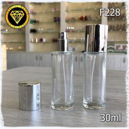 Флакон Парфюмерный для разливных духов f228-30ml Стеклянный флакон распылитель