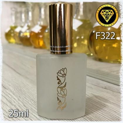 Флакон Парфюмерный для разливных духов f322-25 Флакон стеклянный спреевый