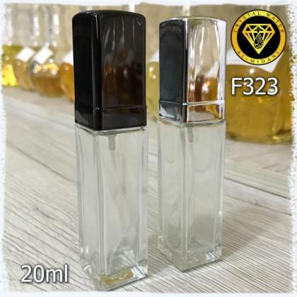 Флакон Парфюмерный для разливных духов f323-20 Флакон стекло прозрачный