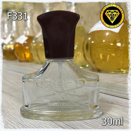 Флакон Парфюмерный для разливных духов f331-30ml Флакон стеклянный с декором