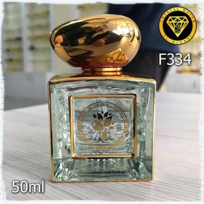 Флакон Парфюмерный для разливных духов f334-50ml. Парфюмерный флакон пломбировочный, стеклянный.