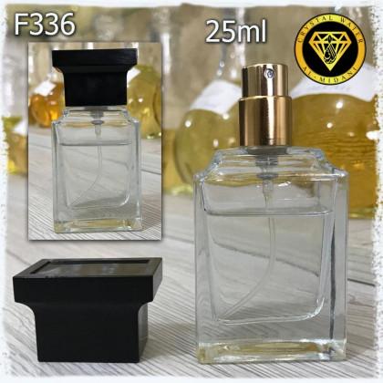 Флакон Парфюмерный для разливных духов f336-25ml. Флакон пломбировочный со стеклянным с узором