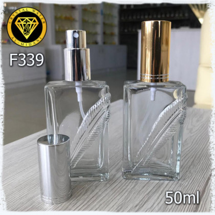 Флакон Парфюмерный для разливных духов f339-50ml Флакон спрей стеклянный