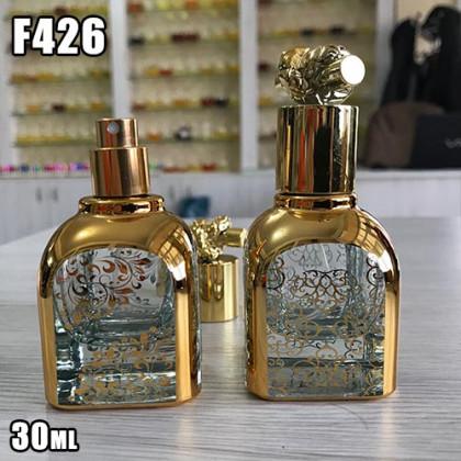 Флакон Парфюмерный для разливных духов f426-30ml Спрей стеклянный