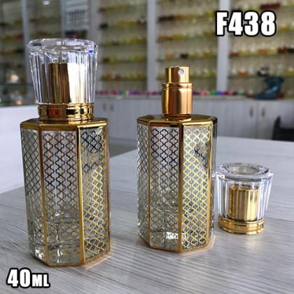 Флакон Парфюмерный для разливных духов f438-40ml Флакон спрей