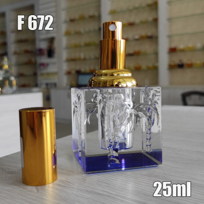 Флакон Парфюмерный для разливных духов f672-25ml
