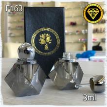 Флакон Масляный для разливных духов f163-3ml. Флакон хрустальный.