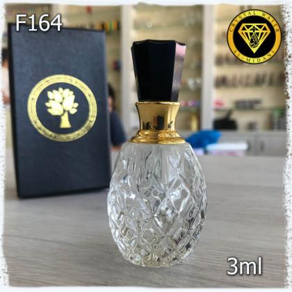 Флакон Масляный для разливных духов f164-3ml. Флакон хрустальный