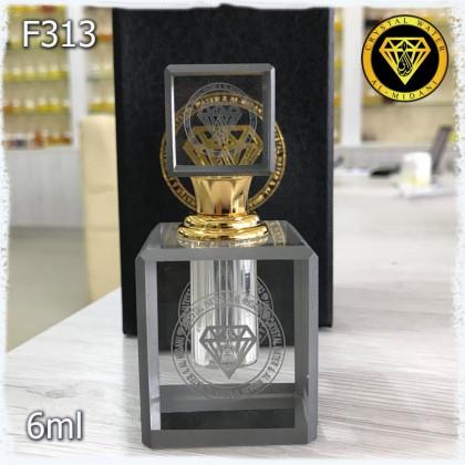 Флакон Масляный для разливных духов f313-6ml Флакон хрустальный