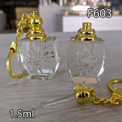 Флакон Масляный для разливных духов f603-1.5ml с кисточкой