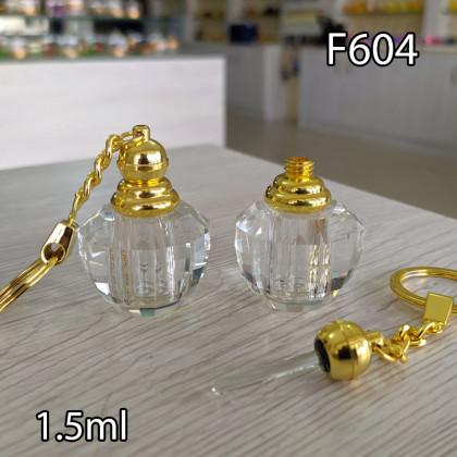 Флакон Масляный для разливных духов f604-1.8ml с кисточкой
