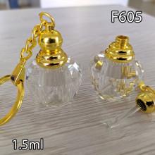 Флакон Масляный для разливных духов f605-1.5ml с кисточкой