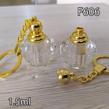Флакон Масляный для разливных духов f606-1.5ml с кисточкой