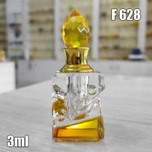 Флакон Масляный для разливных духов f628-3ml Хрустальные с кисточкой