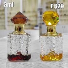 Флакон Масляный для разливных духов f629-3ml Хрустальные с кисточкой