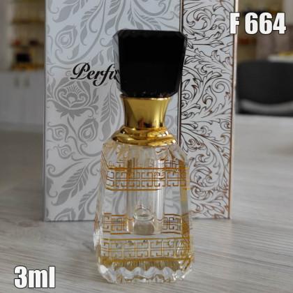 Флакон Масляный для разливных духов f664-3ml