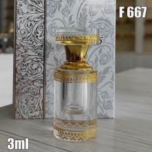 Флакон Масляный для разливных духов f667-3ml