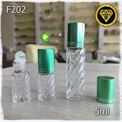 Флакон Масляный для разливных духов f202-5ml Флакон шариковый