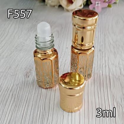 Флакон Масляный для разливных духов f557-3ml