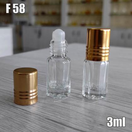 Флакон Масляный для разливных духов f58-3ml