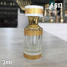 Флакон Масляный для разливных духов f617-3ml Стеклянный флакон с палочкой