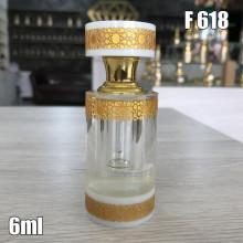 Флакон Масляный для разливных духов f618-6ml Стеклянный флакон с палочкой