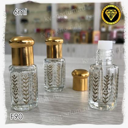 Флакон Масляный для разливных духов F90-6ml Флакон с кисточкой