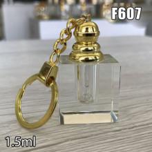 Флакон Масляный для разливных духов f607-1.5ml с кисточкой