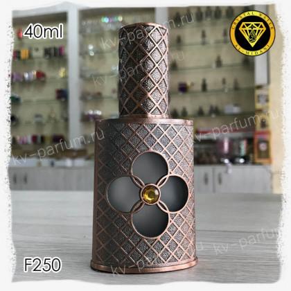 Флакон Парфюмерный для разливных духов F250-40ml Флакон атомайзер. Железный.