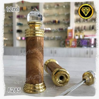 Флакон Масляный для разливных духов F285-12ml Флакон с кисточкой. Железный.