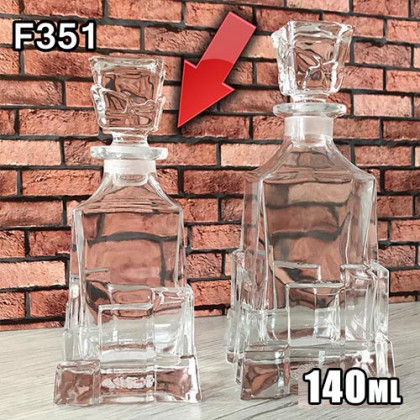 Графин для разливных духов f351-140ml
