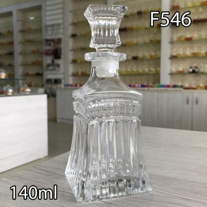 Графин для разливных духов f546-140ml