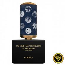 Масляные духи для разливных духов FloraikuMy Love  Has the Colour of the Night (TOP)
