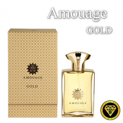 Масляные духи для разливных духов [1111] Amouage Gold Men