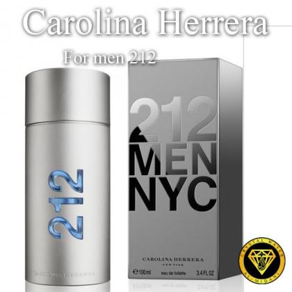 Масляные духи для разливных духов [1249] Carolina Herrera 212 men