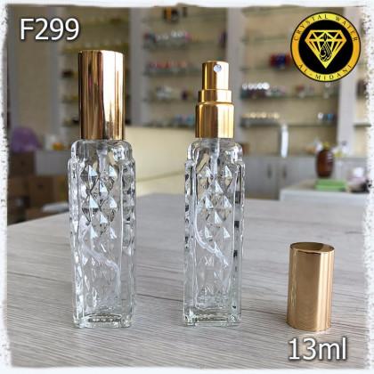 Флакон Парфюмерный для разливных духов F299-13ml Флакон парфюмерный стеклянный