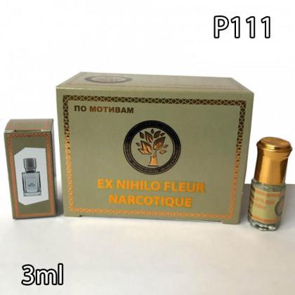 Наша продукция для разливных духов P111-3ml по мотивам Ex Nihilo Fleur Narcotique. В пачке 12 штук